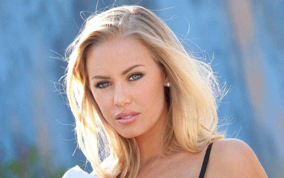 blondes women models Nicole Aniston wallpaper