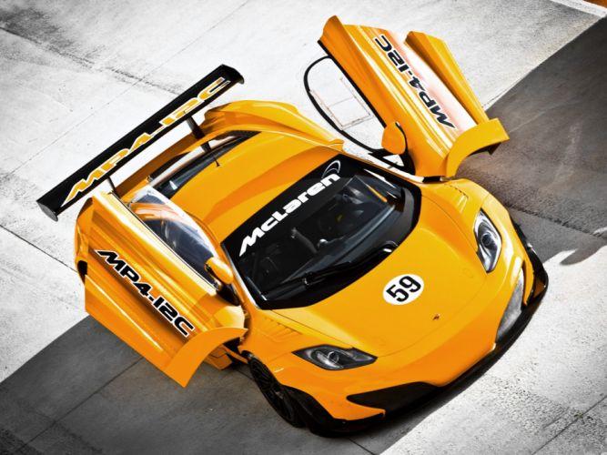 McLaren MP4-12C racing cars wallpaper