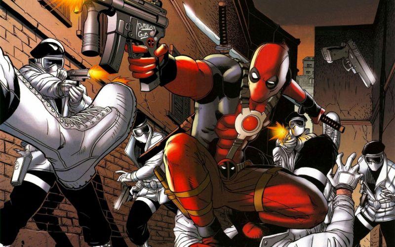 fantasy Deadpool Wade Wilson Marvel Comics wallpaper