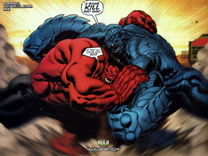 Hulk (comic character) comics Marvel Comics Red Hulk wallpaper