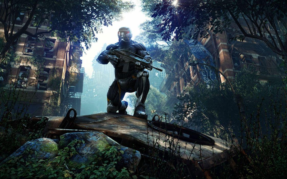 video games revenge Crysis 3 mission wallpaper