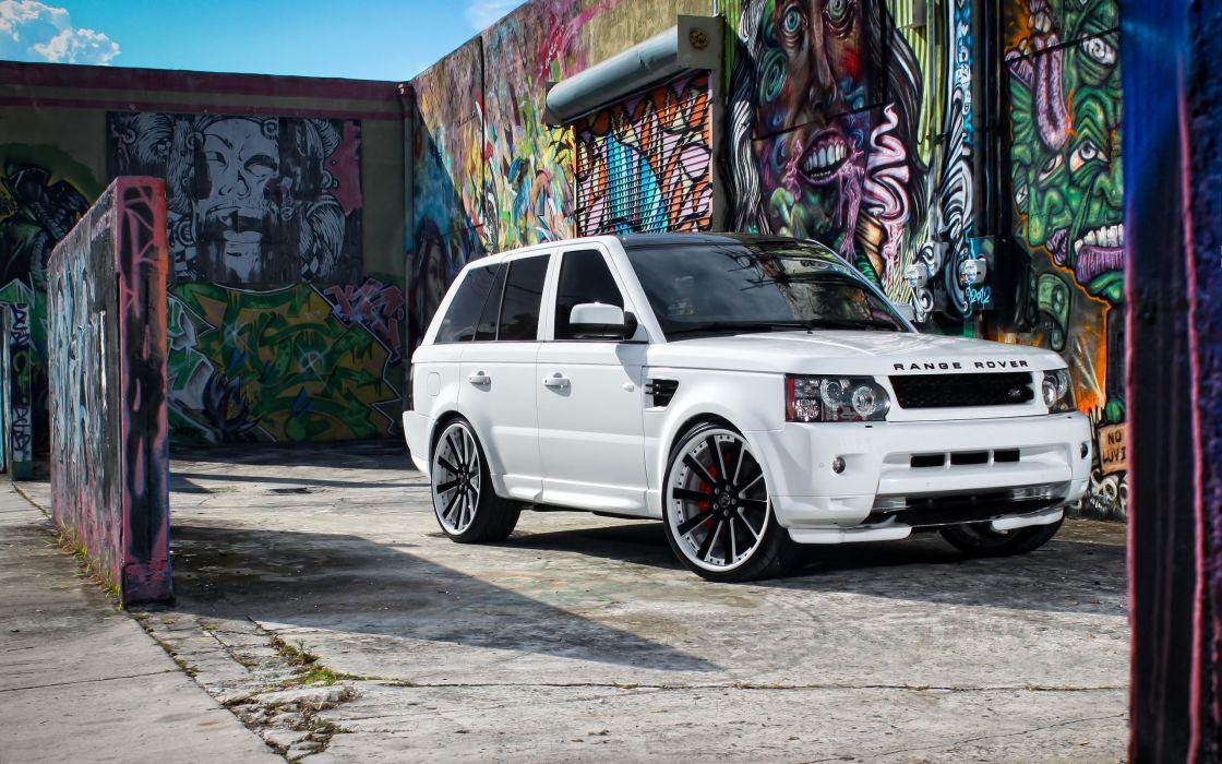 cars tuning Range Rover Sport wallpaper