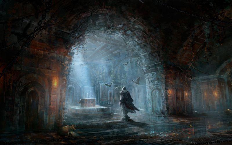 Assassins Creed bats crypt wallpaper