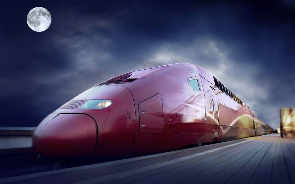 trains TGV Thalys wallpaper