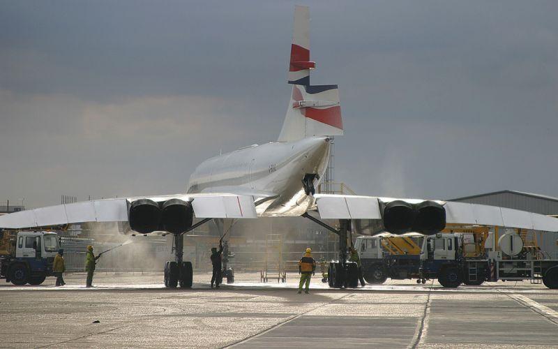 airplanes Concorde wallpaper