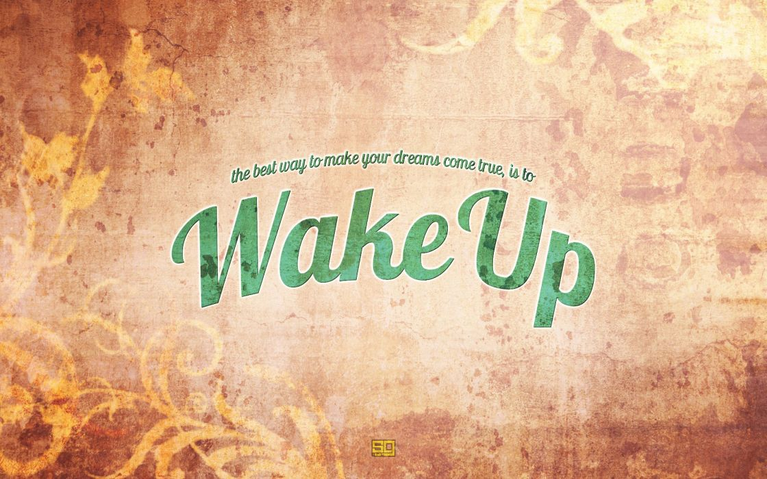 background  wake up  style  words text quotes motivation mood wallpaper