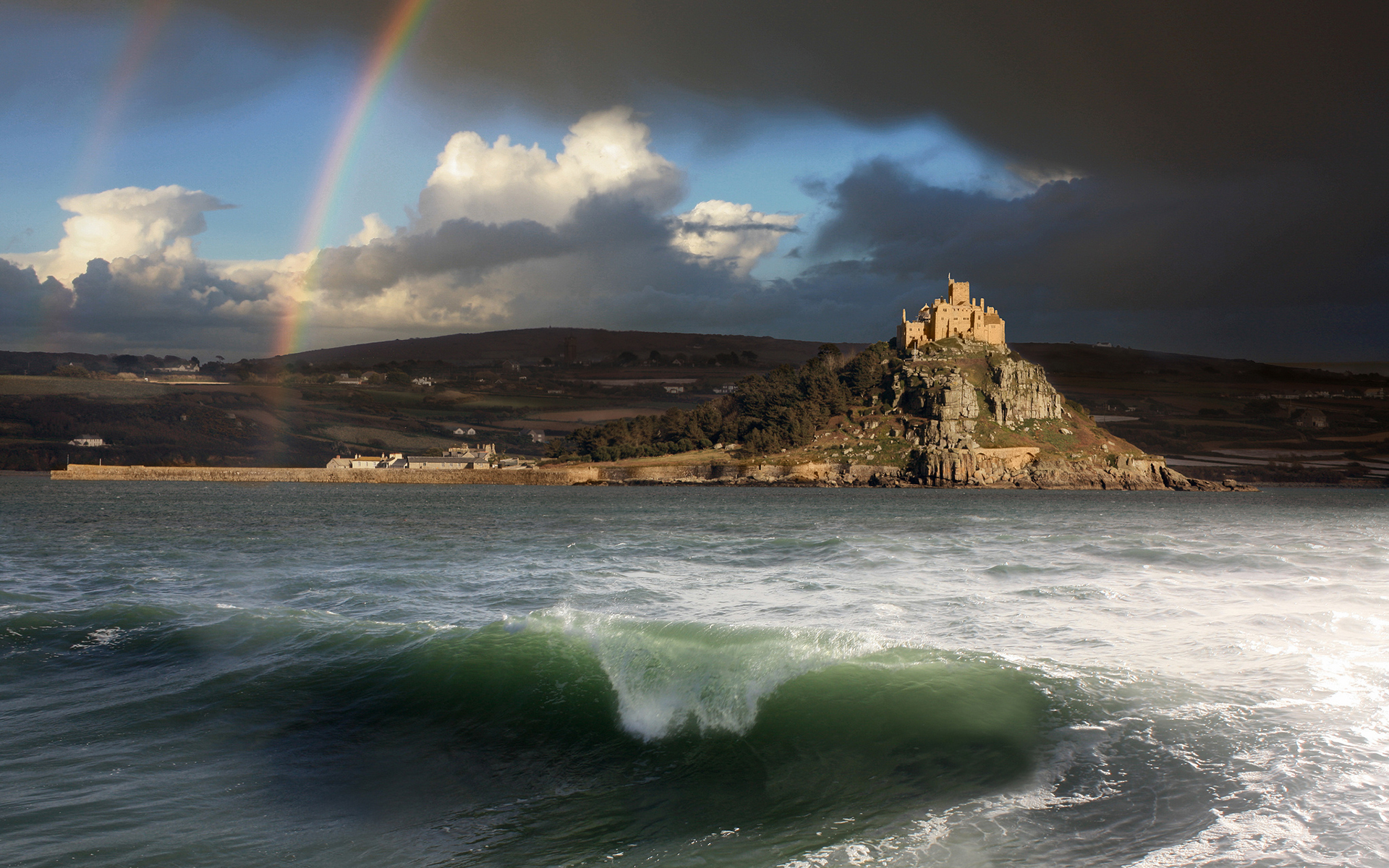 beautiful sea landscape wallpaper - photo #18
