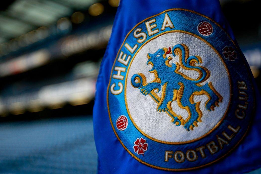 Chelsea Fc Blues Logo Soccer Football Flags Wallpaper
