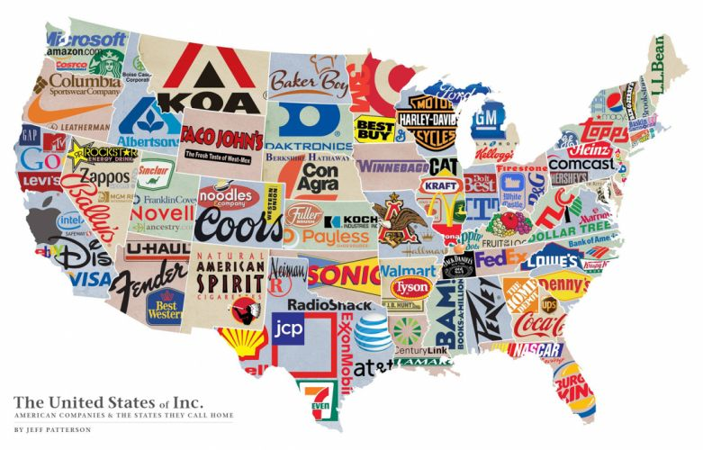 Corporations America United States White products labels text maps wallpaper