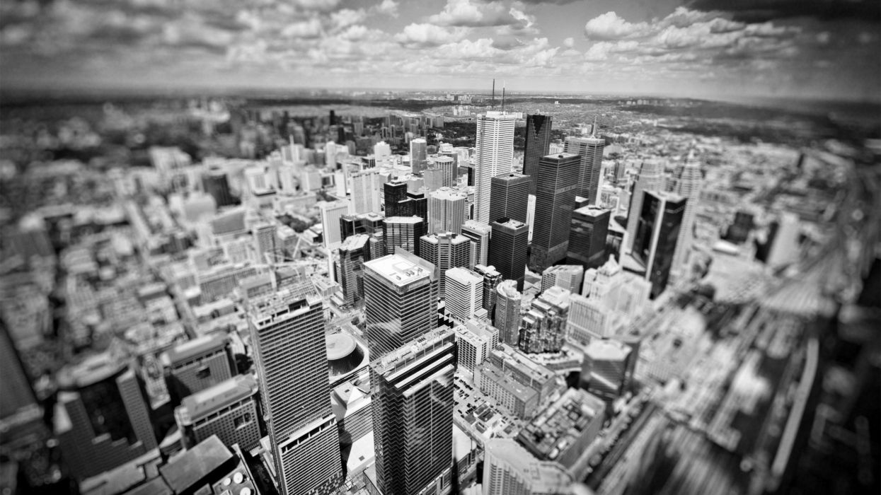 cityscapes monochrome wallpaper