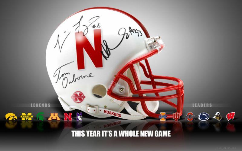 American Football Nebraska Cornhuskers Big Ten NCAA wallpaper