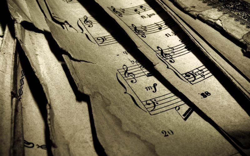 notes musical wallpaper