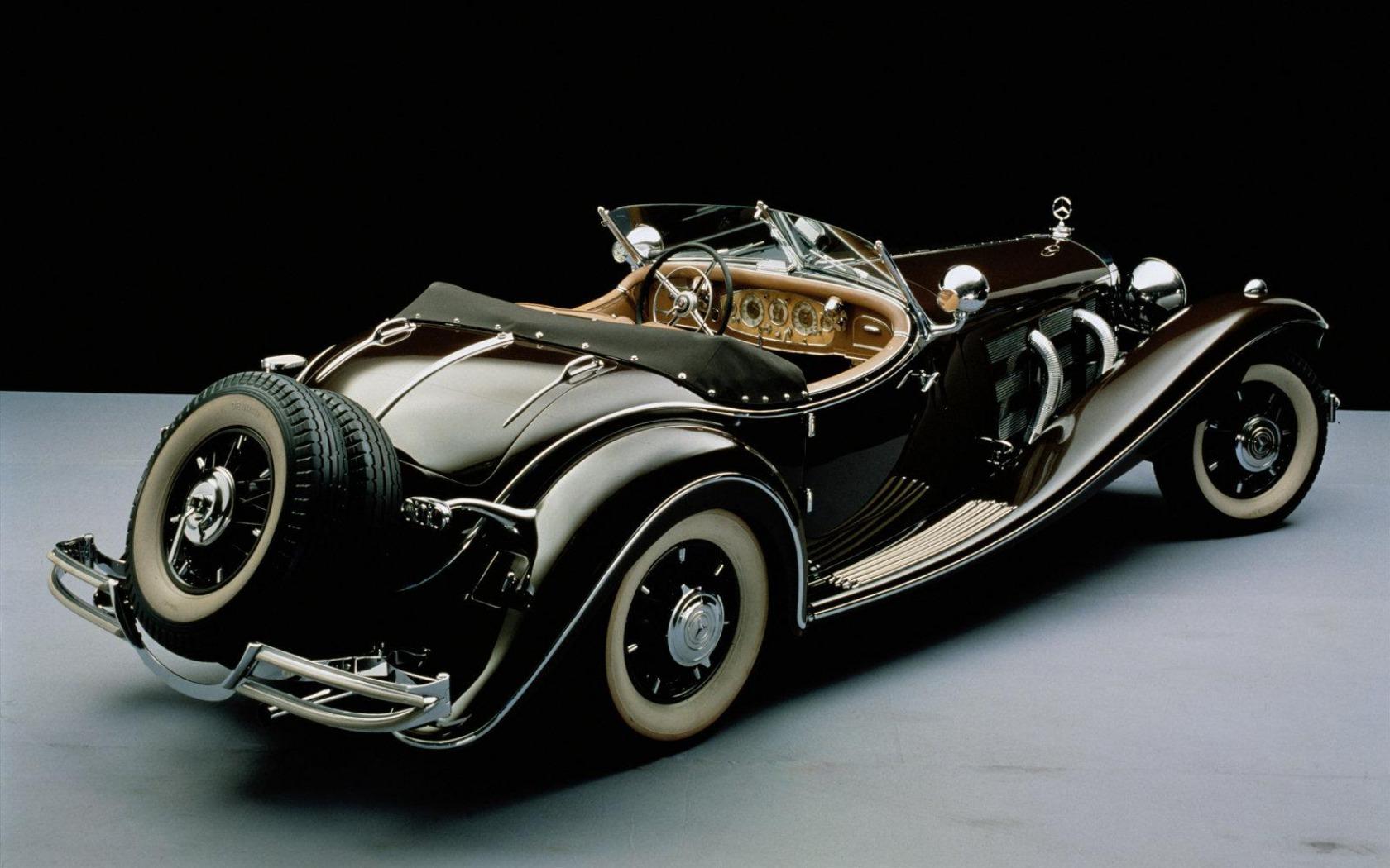Mercedes benz vintage car wallpaper 1680x1050 55247 for Mercedes benz retro