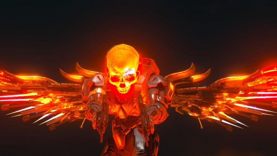 Dark Grim Reaper horror skeletons skull creepy x wallpaper