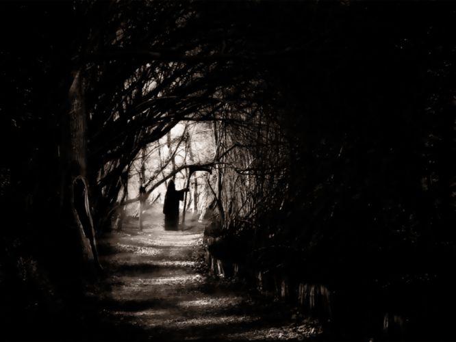 Dark Grim Reaper horror skeletons skull creepy l wallpaper