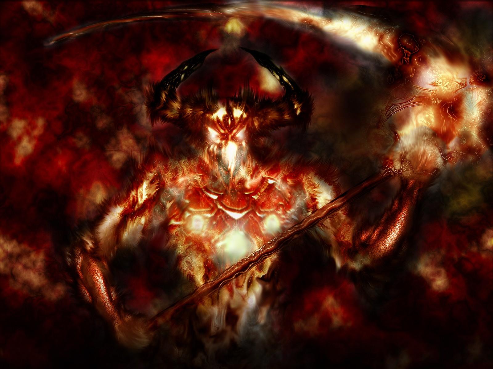 ... Reaper horror skeletons skull creepy demon evil wallpaper background