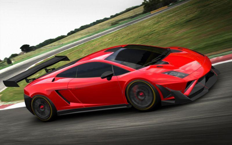 cars Lamborghini Gallardo gt3 wallpaper