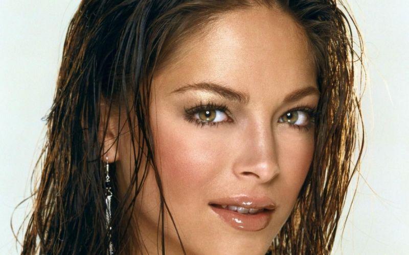 brunettes women models Kristin Kreuk wallpaper