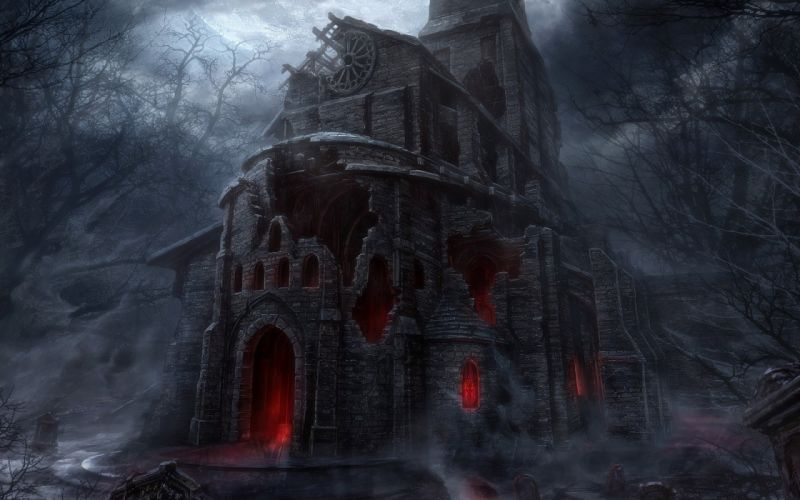 church Diablo III wallpaper
