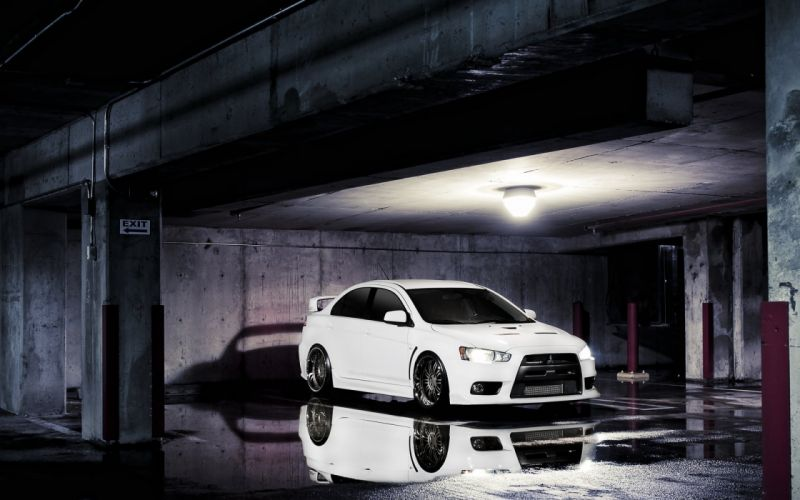 cars Mitsubishi Lancer Evolution Evo X wallpaper