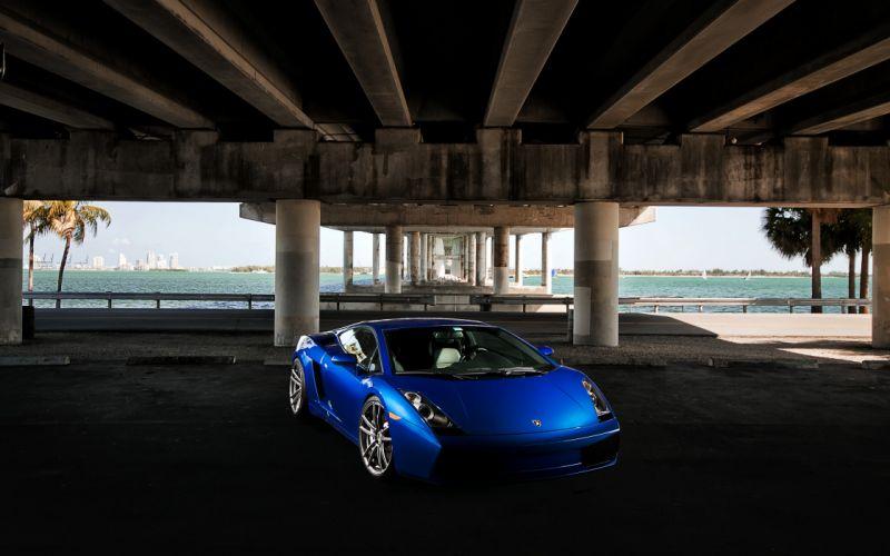 blue cars supercars Lamborghini Gallardo blue cars wallpaper
