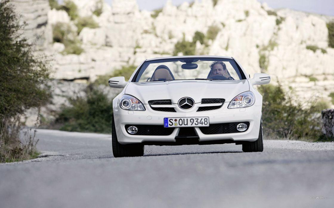 cars Mercedes-Benz Mercedes-Benz SLK-Class wallpaper