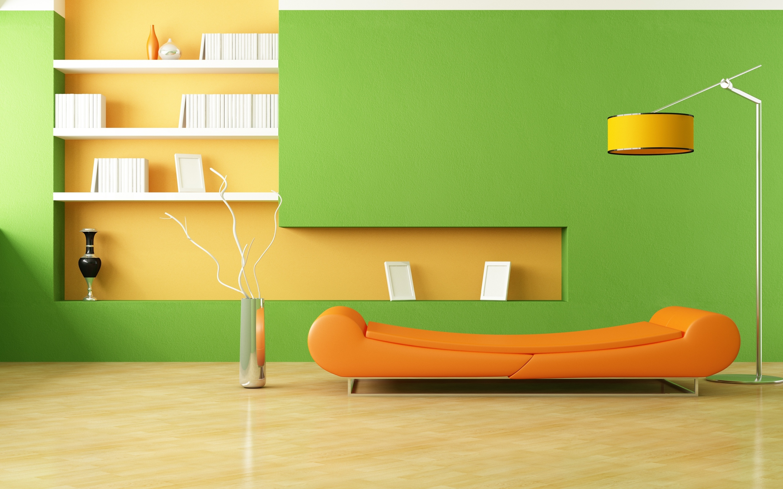 Design Sofa Minimalism Style Room Interior Furniture