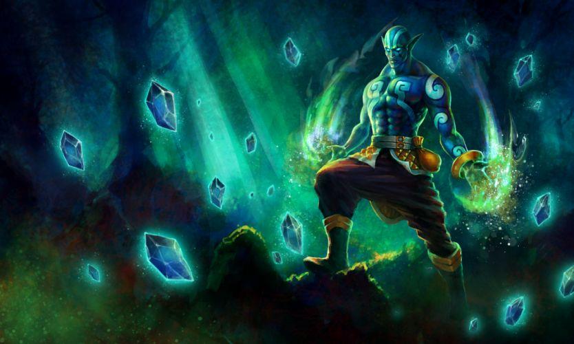 DOTA 2 Warriors Magic Games Fantasy wallpaper