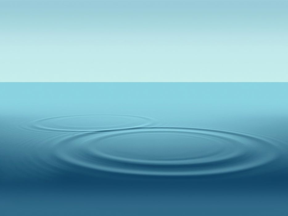 Water Drop Ripple Wallpaper