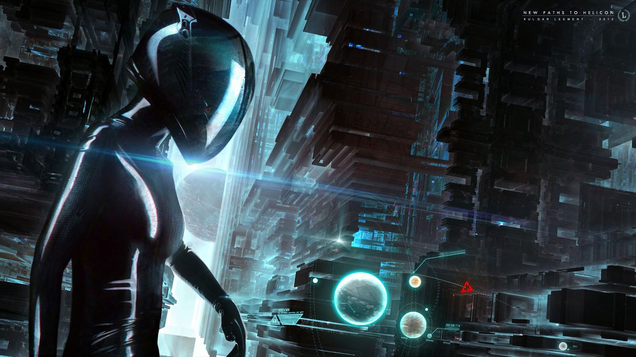 futuristic sci-fi women females girls robot cyborg wallpaper