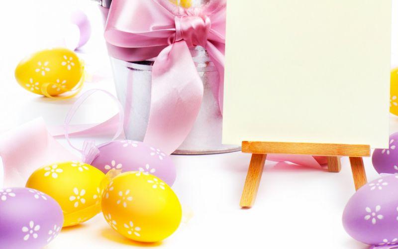 Holidays easter eggs wallpaper