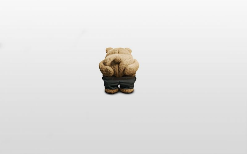 Odd Man Out Bear posture pants ted Miho movies humor sadic teddy wallpaper