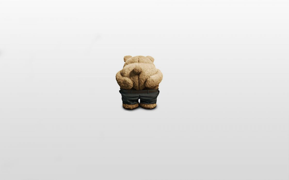 Odd Man Out  Bear  posture  pants  ted  Miho movies humor sadic teddy wallpaper