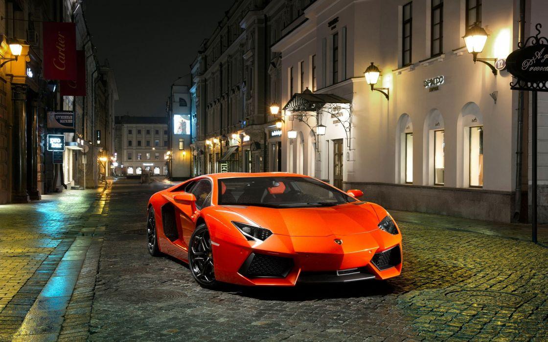 Lamborghini supercars Lamborghini Aventador italian cars wallpaper