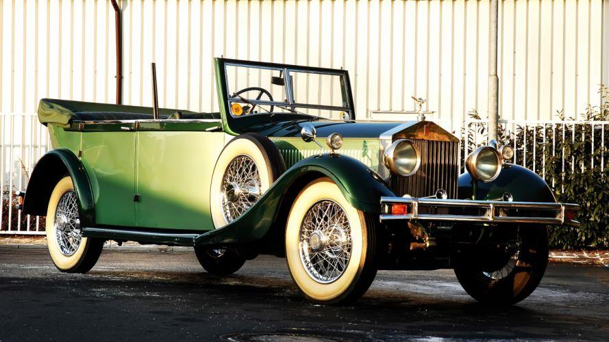 Rolls Royce Phantom Cabriolet 1929 wallpaper