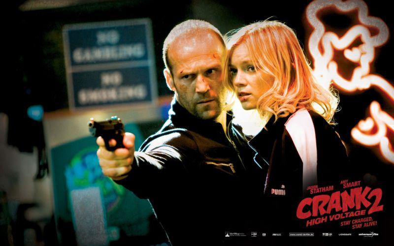 movies Jason Statham Hollywood Crank 2 wallpaper