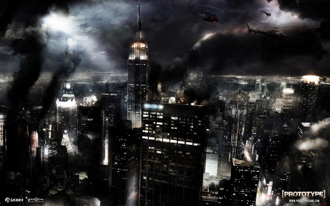 cityscapes buildings Prototype (video game) wallpaper