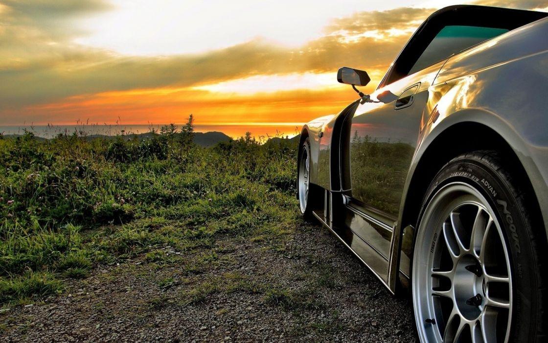 sunset Honda S2000 wallpaper