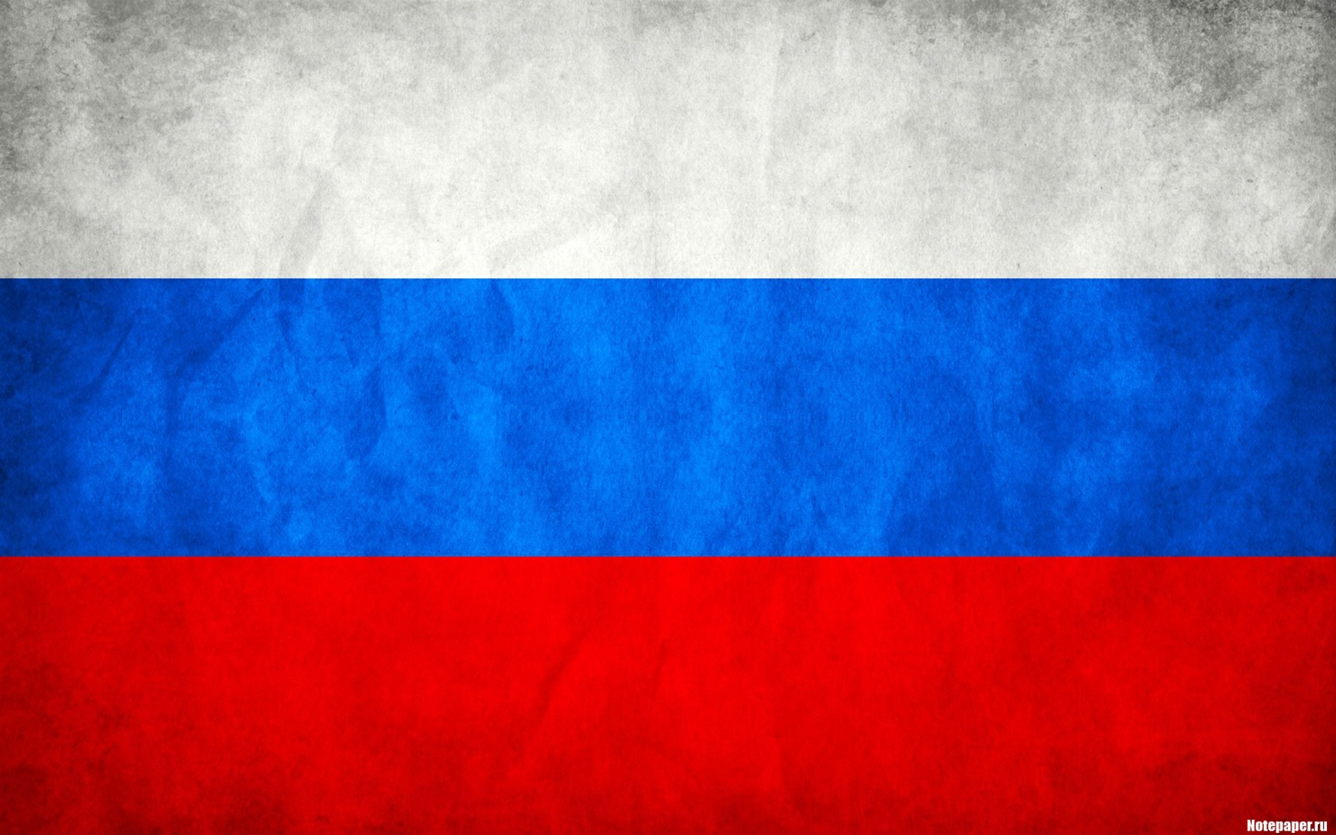 Blue Red White Russia Flags Russian Federation Wallpaper