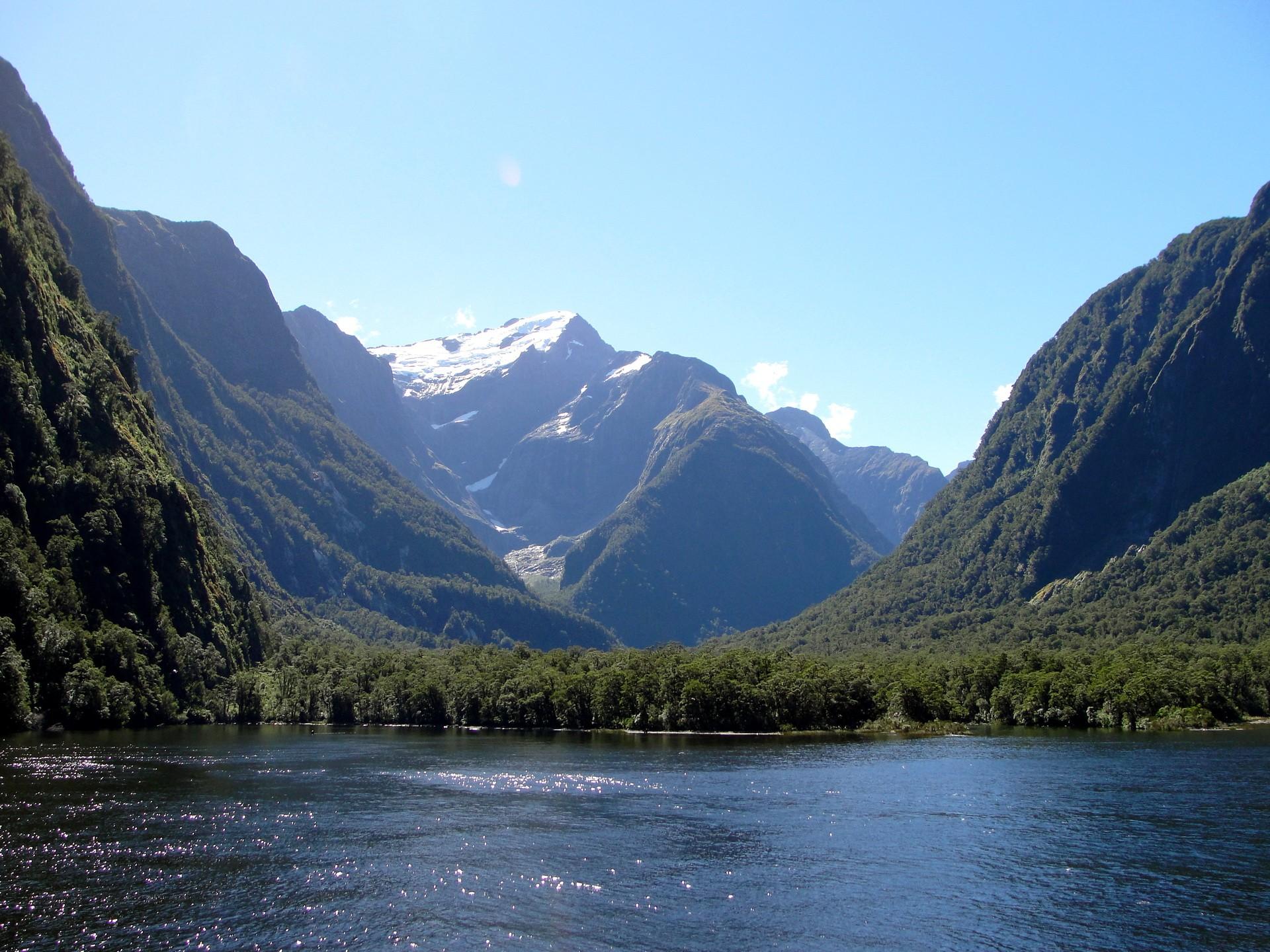 Обои Парки Fiordland Новая Зеландия Природа Фото 321665