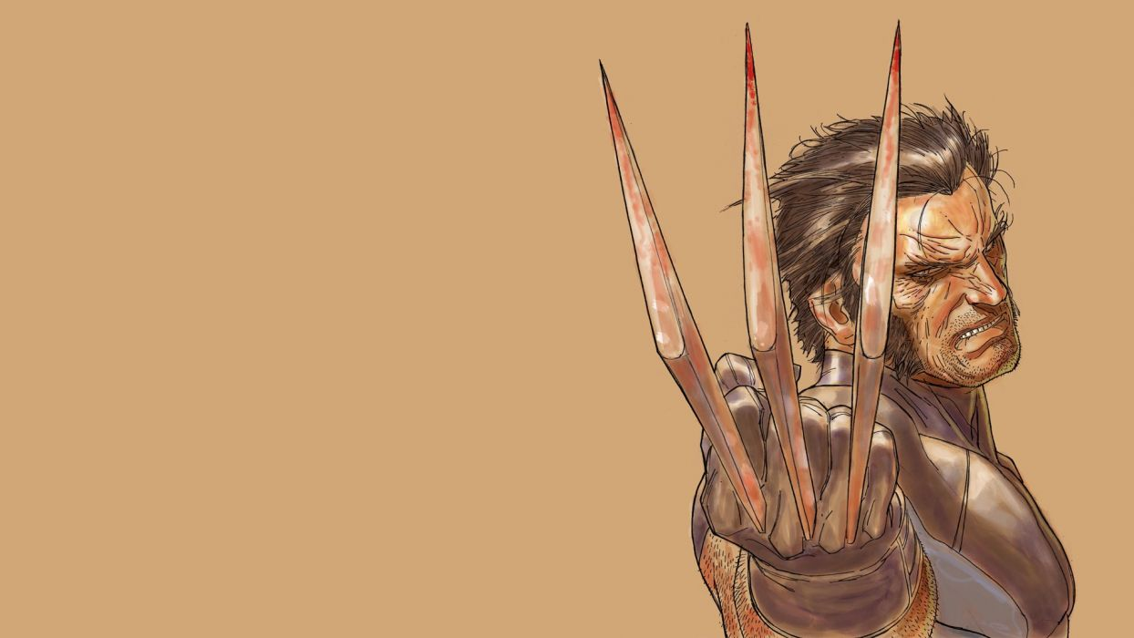 Wolverine Marvel Drawing X-Men superhero wallpaper