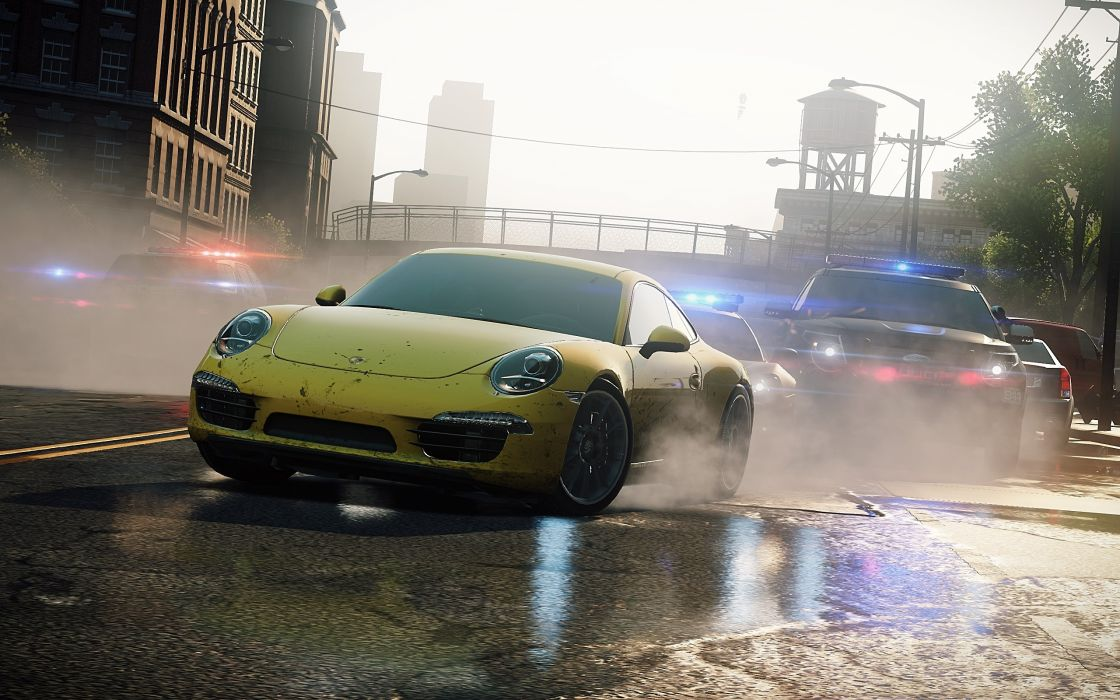 video games cars Need for Speed Most Wanted pc games Porsche 911 Carrera S wallpaper