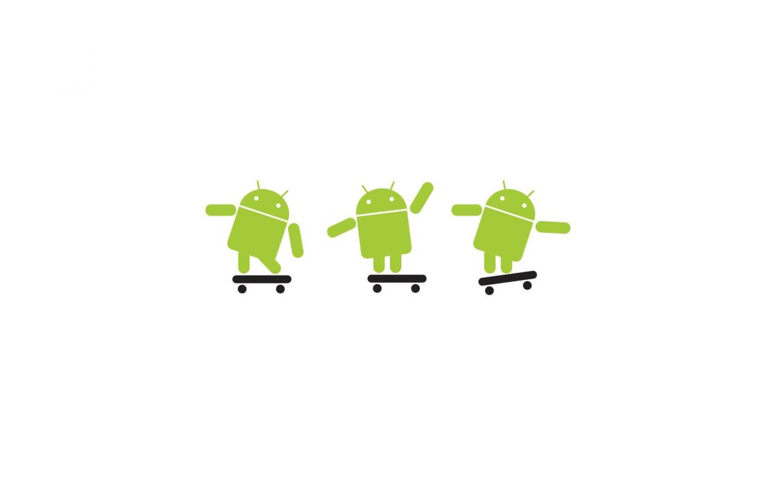 Android skateboards wallpaper
