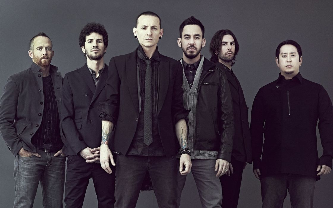Linkin Park Brad Delson Mike Shinoda music bands Joe Hahn rob bourdon Nu-Metal Chester Bennington musican Dave Farrell  rap metal  wallpaper