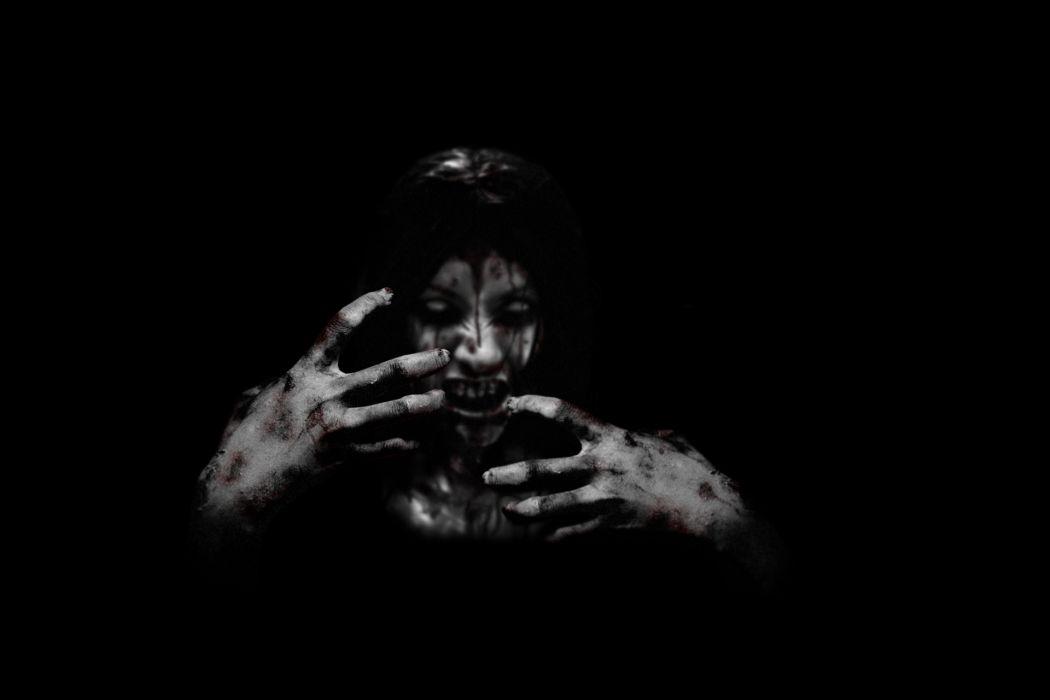 The House Creepy Black movies demon blood face dark horror evil monster wallpaper