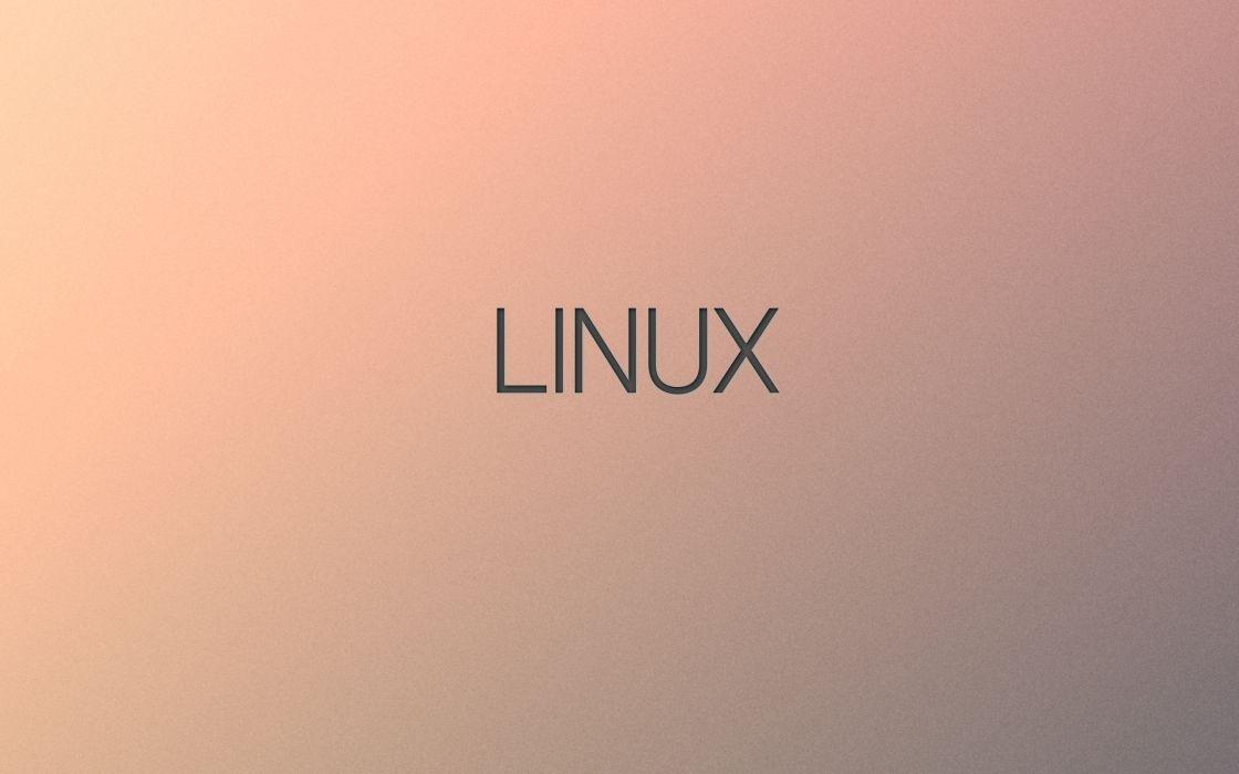minimalistic Linux wallpaper