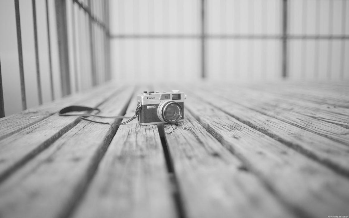 monochrome photo camera greyscale wallpaper