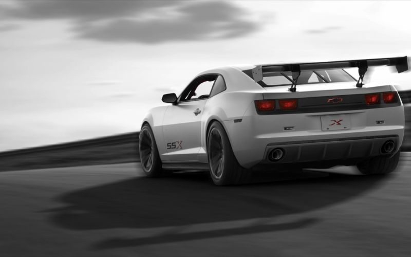 cars concept art vehicles Chevrolet Camaro SSX wallpaper