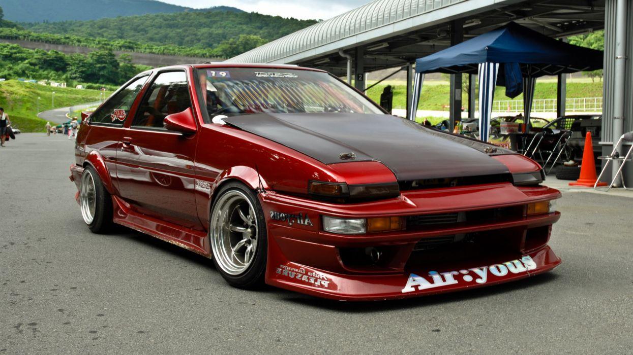cars Toyota AE86 jdm wallpaper