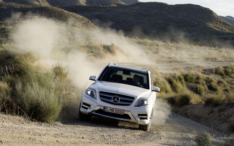 cars 4x4 Mercedes-Benz Mercedes-Benz GLK-Class wallpaper